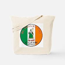 O'Gavin, St. Patrick's Day Tote Bag
