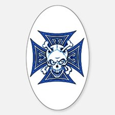 The Haunted Dead Oval Decal
