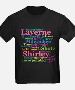 Laverne and Shirley: Word Cloud T