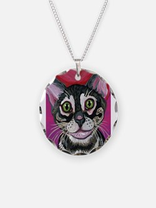 Bengal Cat Valentine Necklace