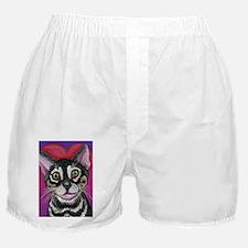 Bengal Cat Valentine Boxer Shorts