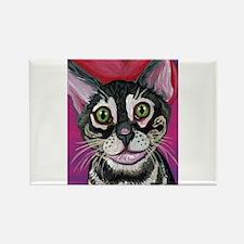 Bengal Cat Valentine Magnets