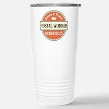 postal worker vintage l Travel Mug