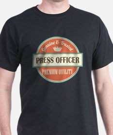 press officer vintage logo T-Shirt