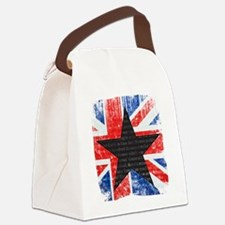 David Bowie Black Star Canvas Lunch Bag