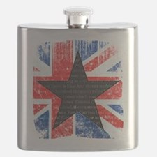 David Bowie Black Star Flask