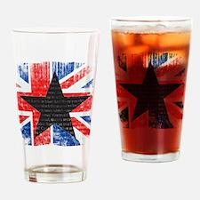 David Bowie Black Star Drinking Glass