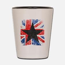 David Bowie Black Star Shot Glass