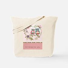 Cute Owl love Tote Bag