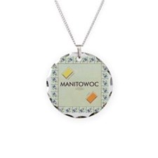 Cute Avery Necklace Circle Charm