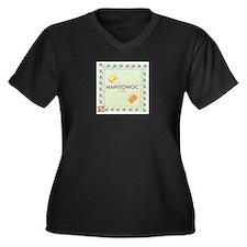 Manitowoc County monopoly Plus Size T-Shirt
