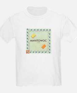 Manitowoc County monopoly T-Shirt