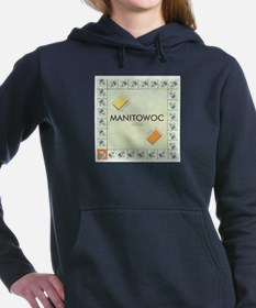 Manitowoc County monopol Women's Hooded Sweatshirt