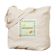 Manitowoc County monopoly Tote Bag