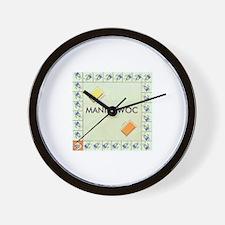 Manitowoc County monopoly Wall Clock