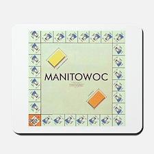 Manitowoc County monopoly Mousepad