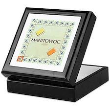 Manitowoc County monopoly Keepsake Box
