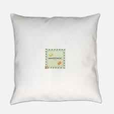 Manitowoc County monopoly Everyday Pillow
