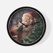 Piebrand Santa Claus Wall Clock