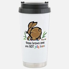 Brown Jelly Beans Stainless Steel Travel Mug