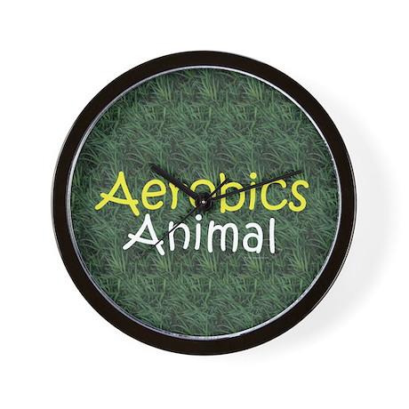 TOP Aerobics Animal Wall Clock
