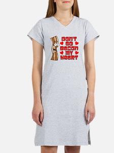 Don't Go Bacon My Heart Women's Nightshirt
