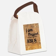 I AM HEALED Canvas Lunch Bag