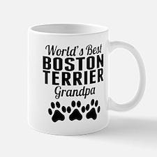 World's Best Boston Terrier Grandpa Mugs