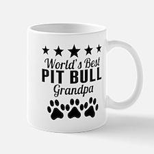 World's Best Pit Bull Grandpa Mugs