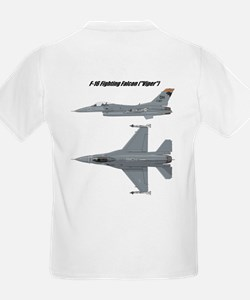 Kids F-16 Viper T-shirt (2-sided)