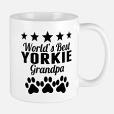 World's Best Yorkie Grandpa Mugs