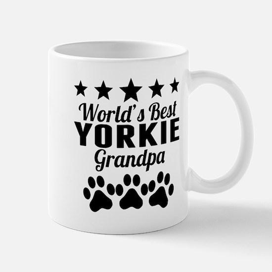 World's Best Yorkie Grandpa Mugs