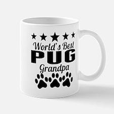 World's Best Pug Grandpa Mugs