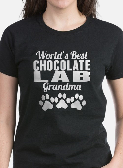 World's Best Chocolate Lab Grandma T-Shirt