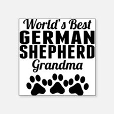 World's Best German Shepherd Grandma Sticker