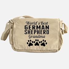 World's Best German Shepherd Grandma Messenger Bag