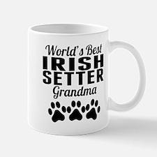 World's Best Irish Setter Grandma Mugs