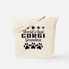 World's Best Corgi Grandma Tote Bag