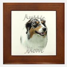 Aussie Mom2 Framed Tile