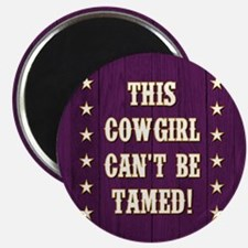 THIS COWGIRL... Magnets