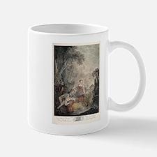 Antique Fishing engraving Mugs