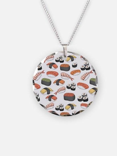 Sushi, I Love Sushi Necklace