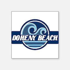 "Unique Pacific ocean Square Sticker 3"" x 3"""