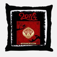 Cute Chinese new year kids Throw Pillow