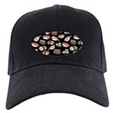 Sushi Baseball Cap with Patch