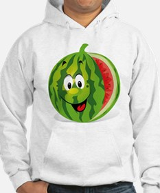 Cute Smiling Cartoon Watermelon Hoodie