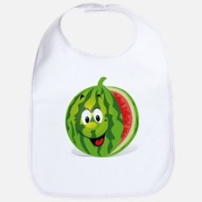 Cute Smiling Cartoon Watermelon Bib