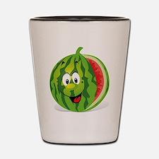 Cute Smiling Cartoon Watermelon Shot Glass