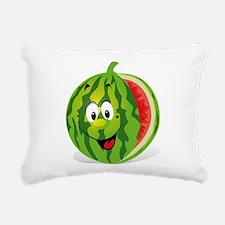 Cute Smiling Cartoon Wat Rectangular Canvas Pillow