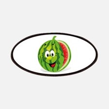 Cute Smiling Cartoon Watermelon Patch